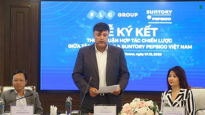 Tập đoàn FLC và Suntory PepsiCo Vietnam ký kết hợp tác chiến lược ảnh 2