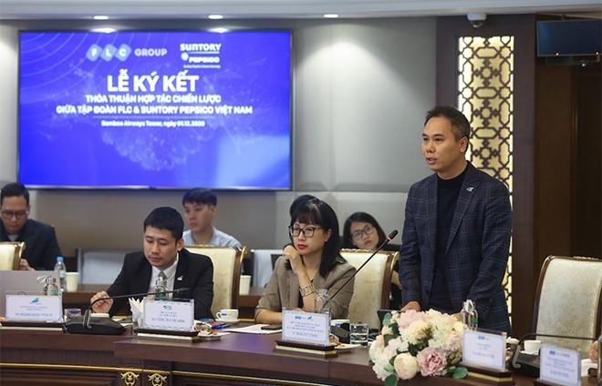 Tập đoàn FLC và Suntory PepsiCo Vietnam ký kết hợp tác chiến lược ảnh 3