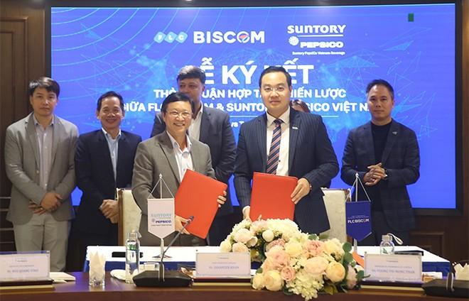 Tập đoàn FLC và Suntory PepsiCo Vietnam ký kết hợp tác chiến lược ảnh 4