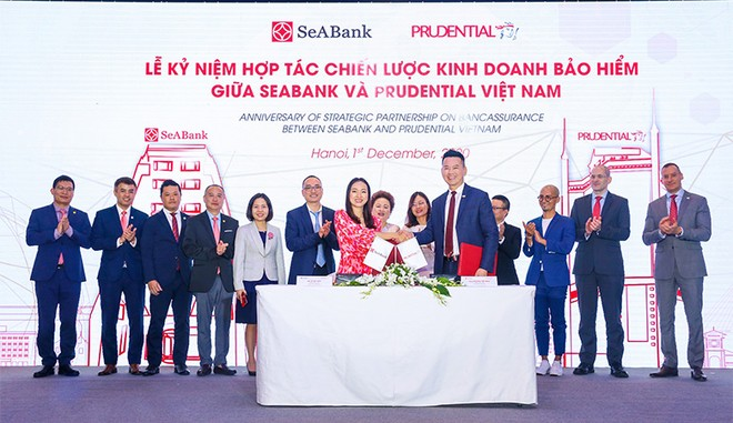 Phân phối sản phẩm bảo hiểm qua nền tảng e-banking: Dấu ấn mối quan hệ Prudential - SeABank ảnh 2