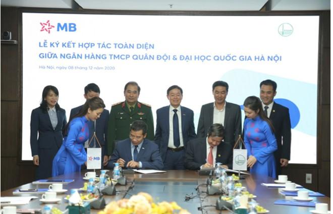 MB ký kết hợp tác toàn diện với Đại học Quốc gia Hà Nội ảnh 1
