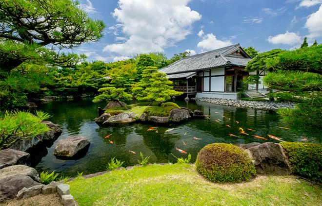 Vườn Nhật đậm chất xứ Phù Tang tại The Zenpark được thiết kế ra sao? ảnh 1