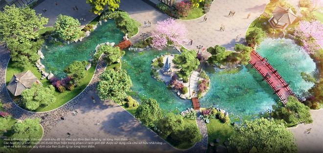 Vườn Nhật đậm chất xứ Phù Tang tại The Zenpark được thiết kế ra sao? ảnh 2