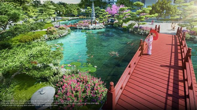 Vườn Nhật đậm chất xứ Phù Tang tại The Zenpark được thiết kế ra sao? ảnh 3