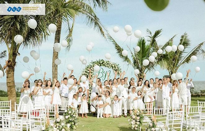 Ngất ngây tiệc cưới đẹp như mơ tại hệ thống nghỉ dưỡng 5 sao FLC Hotels & Resorts: Tình thế này phải cưới ngay kẻo lỡ ảnh 1