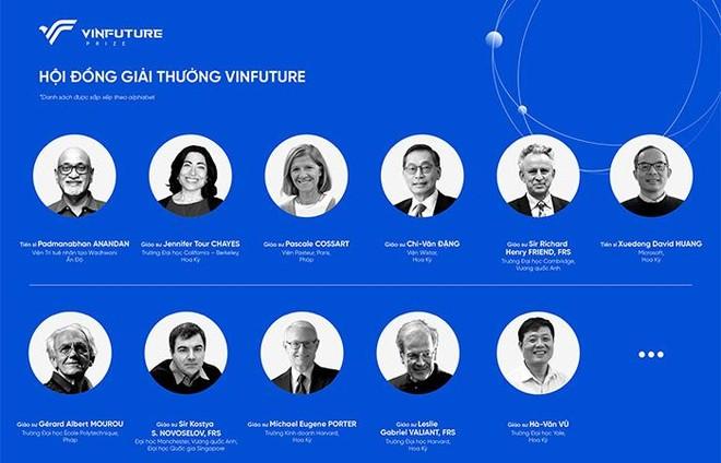 Công bố giải thưởng toàn cầu VinFuture ảnh 2