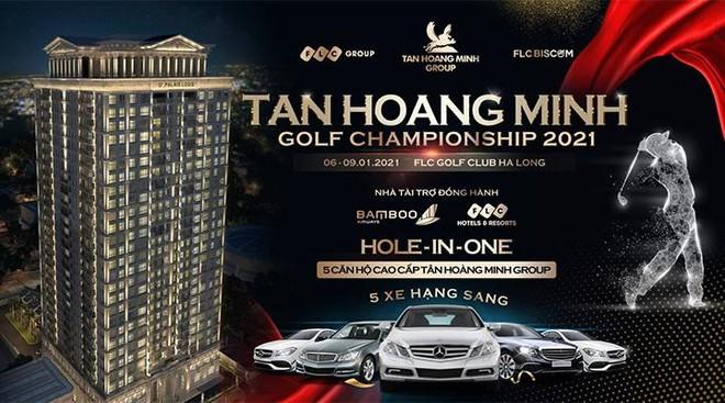 5 căn hộ cao cấp, 5 xe hạng sang – phần thưởng HIO cực lớn tại Tân Hoàng Minh Golf Championship 2021 ảnh 1