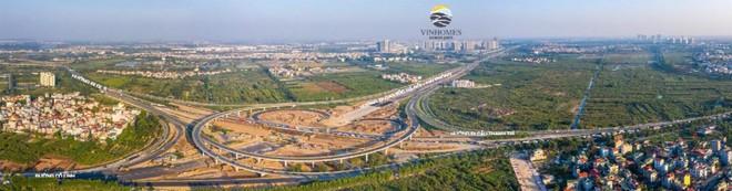 Nút giao Cổ Linh 400 tỉ đồng sắp khánh thành: Vinhomes Ocean Park đón trọn lợi thế ảnh 1
