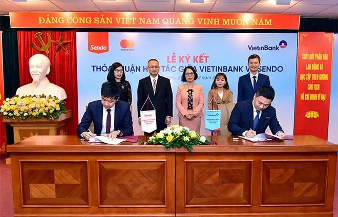 VietinBank hợp tác với Công ty Sen Đỏ phát hành thẻ vật lý, thẻ phi vật lý - định danh eKYC ảnh 1