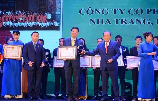 Vinpearl nhận giải thưởng Môi trường quốc gia duy nhất của ngành du lịch ảnh 1