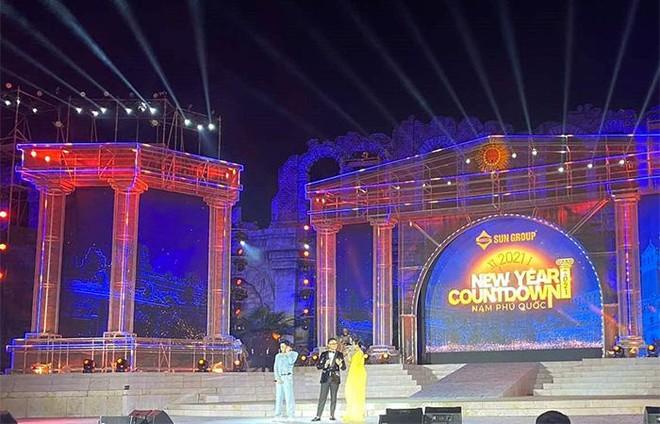 New Year Countdown 2021 Nam Phú Quốc do Sun Group tổ chức - không gian nghệ thuật đẳng cấp xứng tầm đỉnh cao ảnh 9