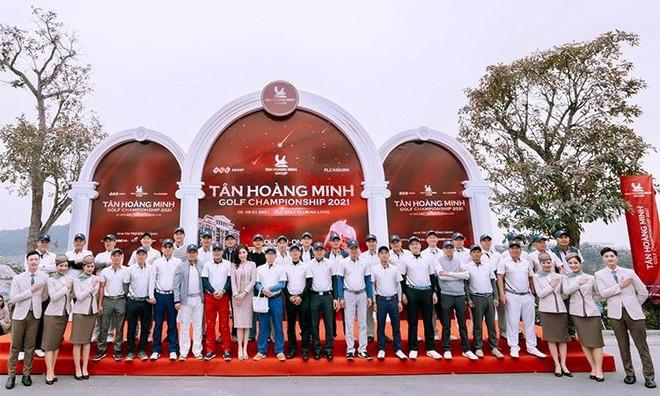 Tân Hoàng Minh Golf Championship 2021 chính thức khởi tranh ảnh 1