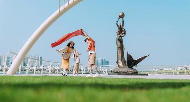 """Cận cảnh nhịp sống sôi động tại đại đô thị """"hot"""" nhất phía Đông Hà Nội ảnh 1"""