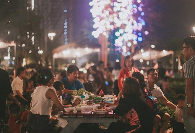 """Cận cảnh nhịp sống sôi động tại đại đô thị """"hot"""" nhất phía Đông Hà Nội ảnh 3"""