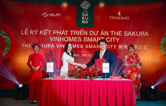 Vinhomes hợp tác Tập đoàn Samty phát triển dự án The Sakura ảnh 1