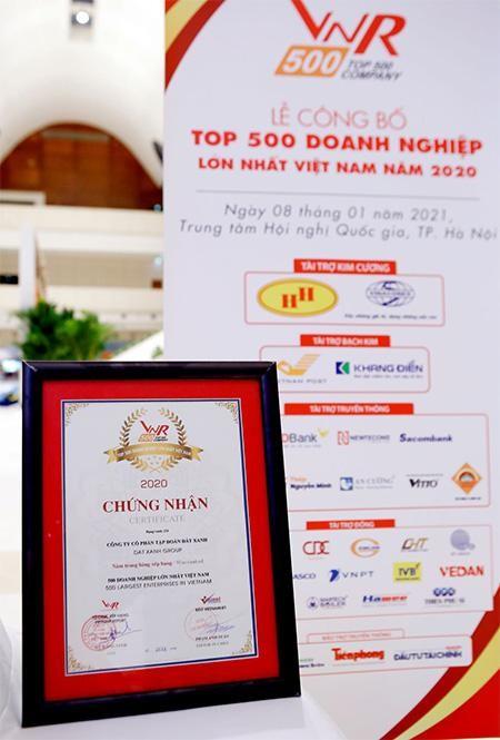 Tập đoàn Đất Xanh tiếp tục được vinh danh Top 10 doanh nghiệp BĐS tư nhân lớn nhất Việt Nam năm 2020 ảnh 2