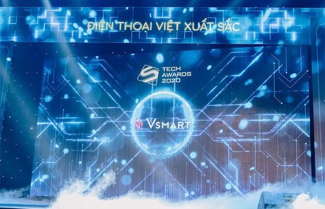 """Đằng sau """"cú ăn 4"""" của thương hiệu điện thoại Việt tại Tech Awards 2020 ảnh 1"""