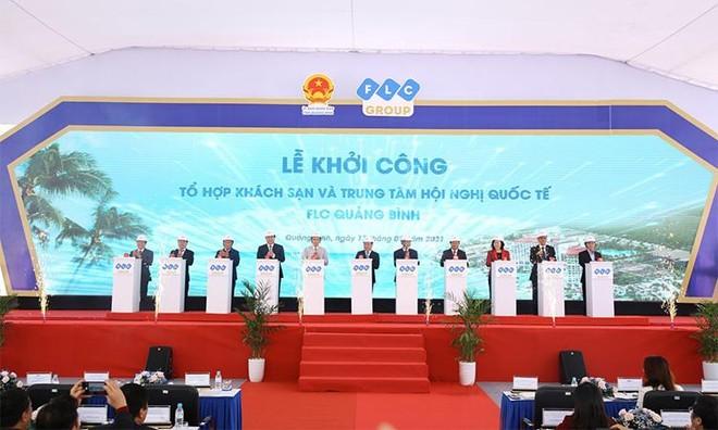 FLC Quảng Bình khởi công giai đoạn 2 với Tổ hợp khách sạn và Trung tâm Hội nghị quốc tế ảnh 1