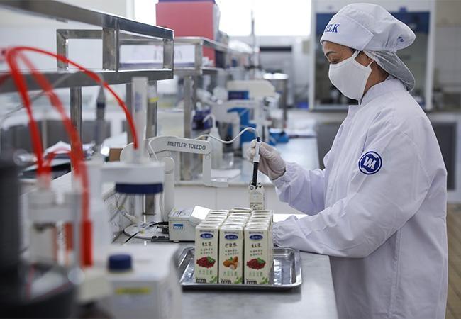 Vinamilk chào 2021 với lô sản phẩm sữa hạt và sữa đặc lớn xuất khẩu đi Trung Quốc ảnh 5