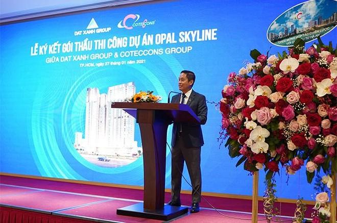 Tập đoàn Đất Xanh và Coteccons bắt tay xây dựng dự án Opal Skyline ảnh 2