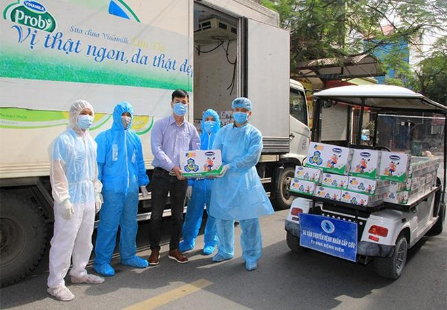 Vinamilk hỗ trợ 45.000 hộp sữa cho hơn 800 trẻ em đang cách ly tại Hà Nội, Hải Dương và Hải Phòng ảnh 5