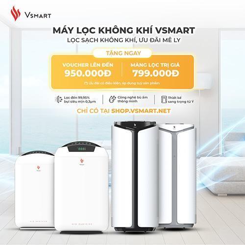 VinSmart mở bán máy lọc không khí và giải pháp nhà thông minh độc quyền trên VSmart Online ảnh 1