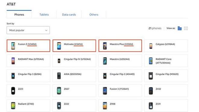 Nhiều mẫu điện thoại do VinSmart sản xuất đã được bán rộng rãi tại Mỹ ảnh 1