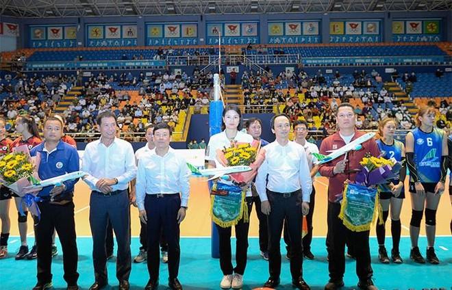 Đội bóng chuyền nữ Bamboo Airways Vĩnh Phúc gây ấn tượng mạnh trong trận ra mắt ảnh 1