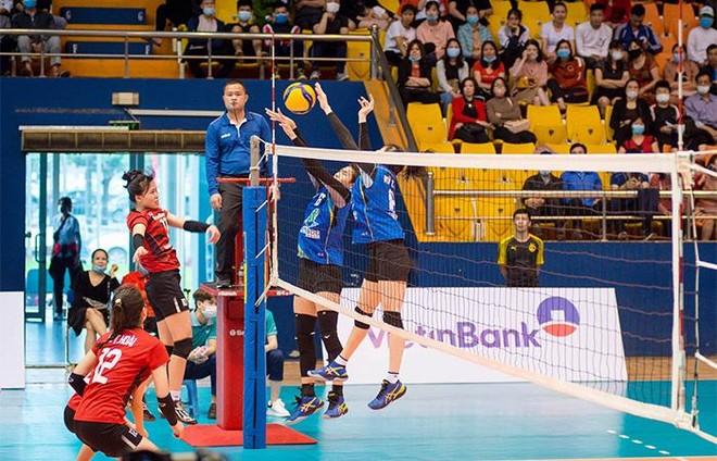 Đội bóng chuyền nữ Bamboo Airways Vĩnh Phúc gây ấn tượng mạnh trong trận ra mắt ảnh 3