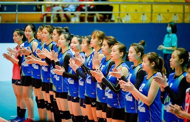 Đội bóng chuyền nữ Bamboo Airways Vĩnh Phúc gây ấn tượng mạnh trong trận ra mắt ảnh 4