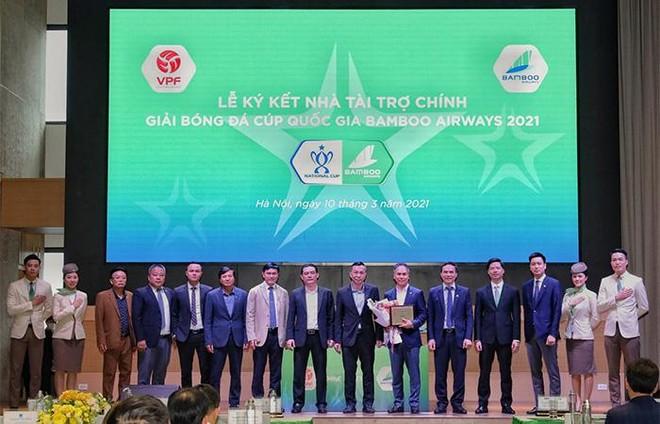 Bamboo Airways tài trợ chính Giải Cúp quốc gia Bamboo Airways 2021 năm thứ 3 liên tiếp ảnh 2