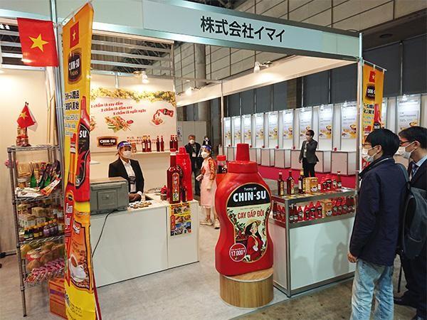 Tương ớt Chin-Su nổi bật tại triển lãm thực phẩm và đồ uống quốc tế Nhật Bản ảnh 3