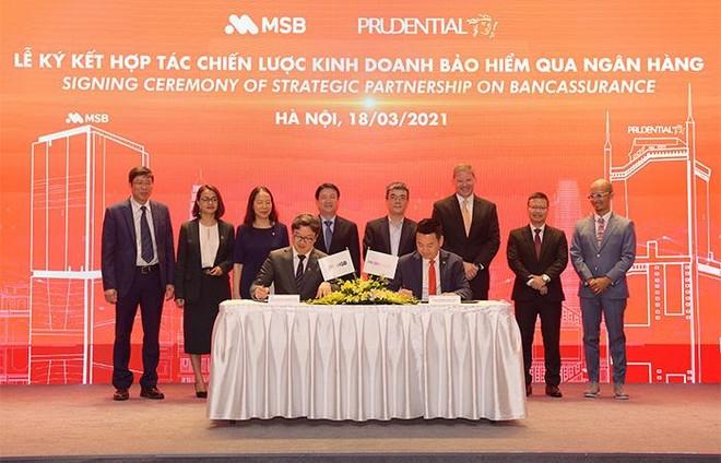 Prudential Việt Nam và Ngân hàng MSB ký kết hợp tác 15 năm trên phạm vi toàn quốc ảnh 1