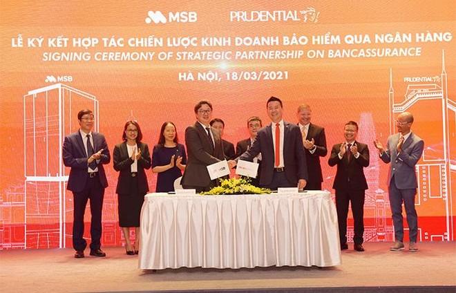 Prudential Việt Nam và Ngân hàng MSB ký kết hợp tác 15 năm trên phạm vi toàn quốc ảnh 2