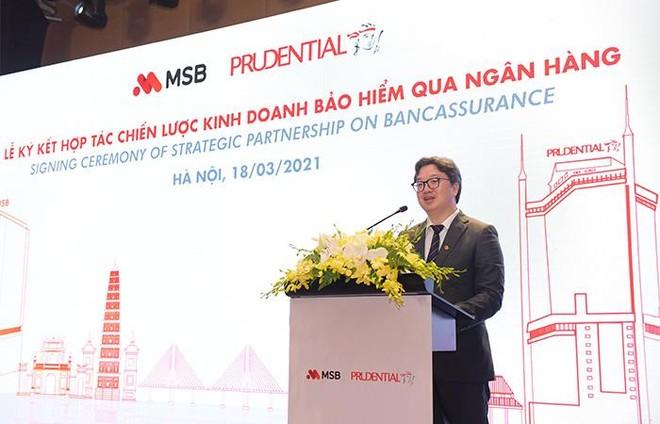 Prudential Việt Nam và Ngân hàng MSB ký kết hợp tác 15 năm trên phạm vi toàn quốc ảnh 4