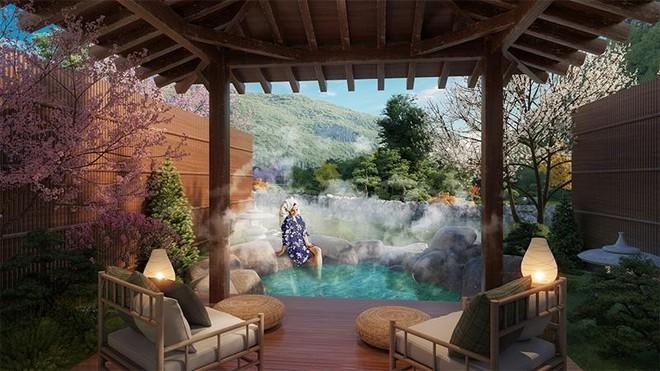 Liệu pháp tắm khoáng nóng kéo dài tuổi thọ chỉ có tại biệt thự khoáng nóng Sun Onsen Village - Limited Edition ảnh 2