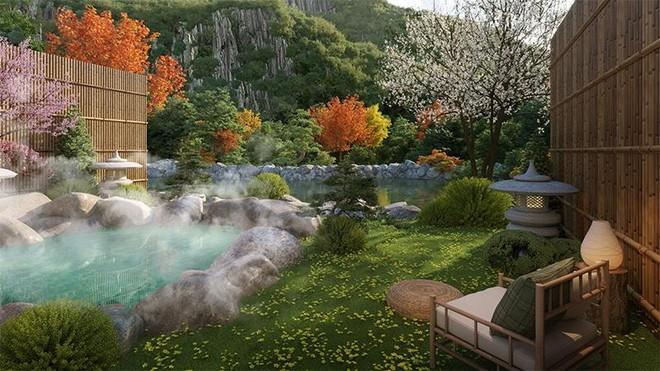 Liệu pháp tắm khoáng nóng kéo dài tuổi thọ chỉ có tại biệt thự khoáng nóng Sun Onsen Village - Limited Edition ảnh 4