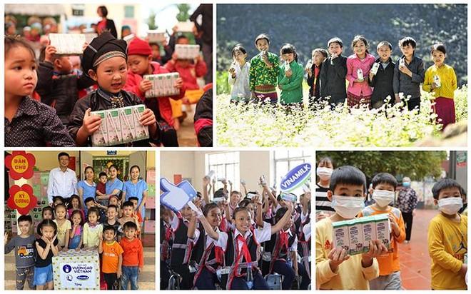 Kỷ niệm 45 năm thành lập, Vinamilk và Quỹ sữa Vươn cao Việt Nam khởi động hành trình 2021 ảnh 2