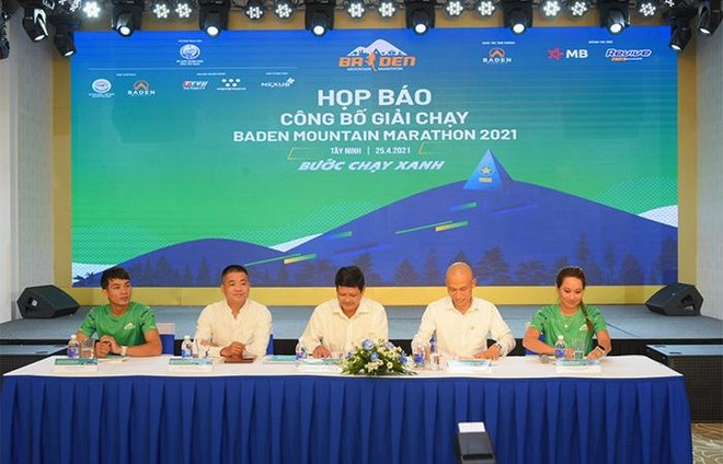 Chính thức khởi động giải chạy BaDen Mountain Marathon 2021 tại Tây Ninh ảnh 1