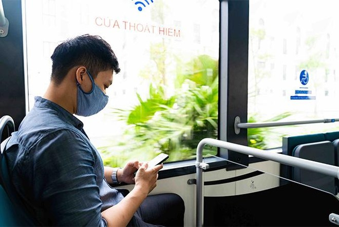 """Háo hức khám phá xe buýt điện đầu tiên tại Việt Nam với những trải nghiệm """"cực chất"""" ảnh 3"""