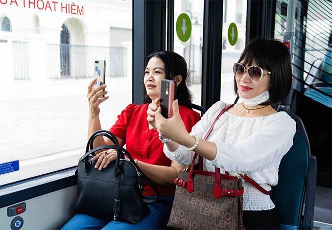 """Háo hức khám phá xe buýt điện đầu tiên tại Việt Nam với những trải nghiệm """"cực chất"""" ảnh 4"""