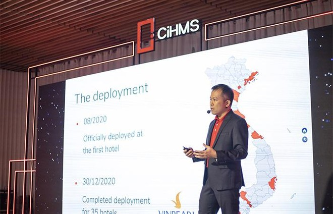 Vingroup ra mắt bộ giải pháp chuyển đổi số quản lý khách sạn toàn diện CiHMS ảnh 2