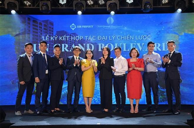 Sun Group hợp tác chiến lược với 8 đại lý phân phối dự án Sun Grand Boulevard ảnh 4