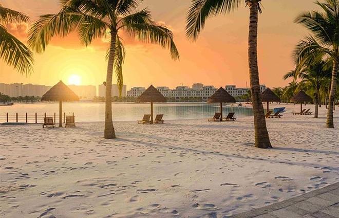 """Không cần đi đâu xa, """"check-in"""" lung linh tại """"Maldives thu nhỏ"""" giữa lòng Hà Nội ảnh 3"""