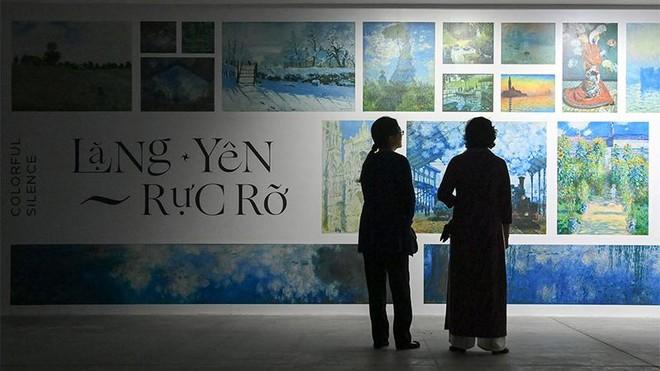 """""""Ngoài"""" và """"trong"""" ở triển lãm của Claude Monet và Pierre Bonnard tại VCCA ảnh 1"""