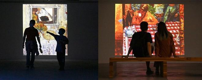 """""""Ngoài"""" và """"trong"""" ở triển lãm của Claude Monet và Pierre Bonnard tại VCCA ảnh 10"""