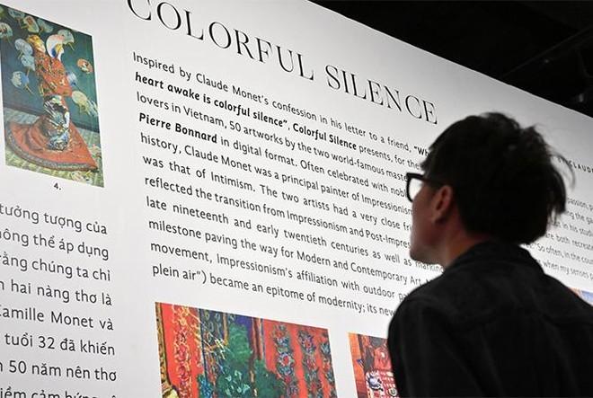 """""""Ngoài"""" và """"trong"""" ở triển lãm của Claude Monet và Pierre Bonnard tại VCCA ảnh 12"""