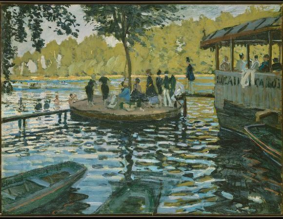 """""""Ngoài"""" và """"trong"""" ở triển lãm của Claude Monet và Pierre Bonnard tại VCCA ảnh 3"""