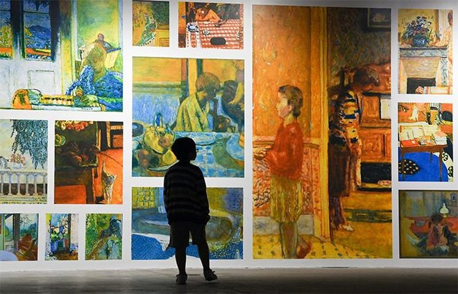 """""""Ngoài"""" và """"trong"""" ở triển lãm của Claude Monet và Pierre Bonnard tại VCCA ảnh 8"""