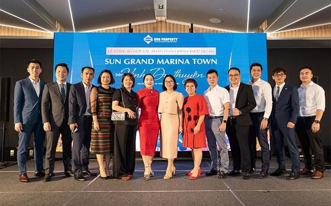 """Sun Property hợp tác cùng 11 đại lý phân phối """"siêu phẩm"""" mới Sun Grand Marina Town ảnh 1"""
